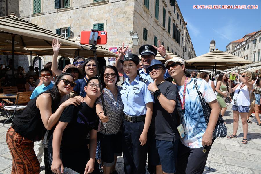 CROATIA-CHINA-POLICE-JOINT PATROL