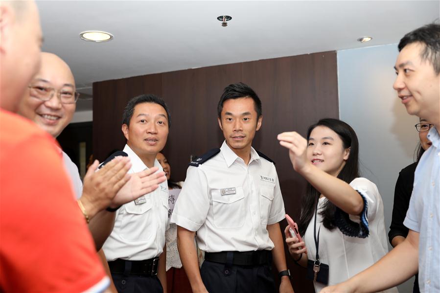 CHINA-HONG KONG-RESIDENTS-POLICE-SUPPORT (CN)