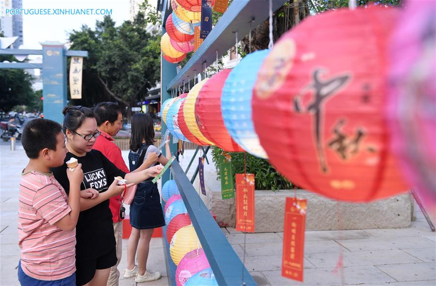 CHINA-FUJIAN-FUZHOU-MID-AUTUMN FESTIVAL-TOURISM (CN)