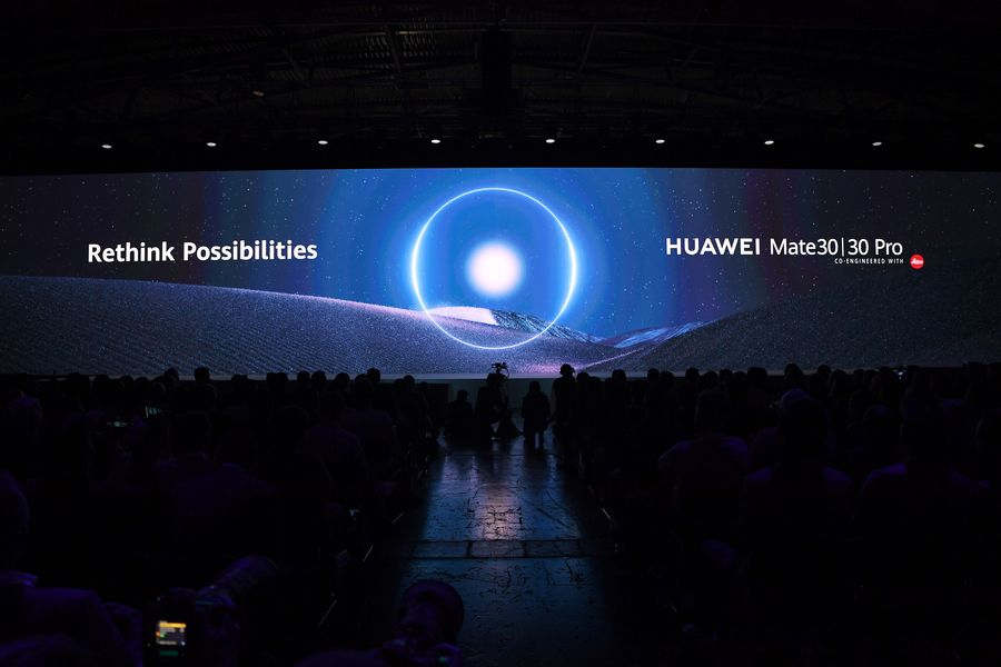 Huawei revela smartphone de ponta Mate 30