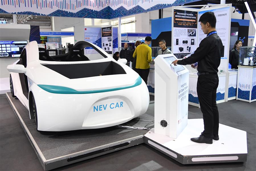 CHINA-BEIJING-WORLD INTELLIGENT CONNECTED VEHICLES CONFERENCE-OPENING (CN)
