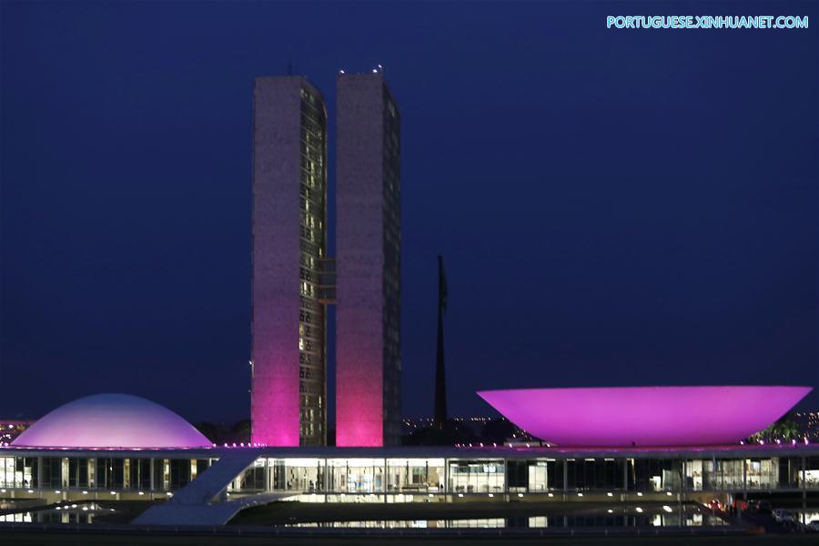 BRASIL-BRASILIA-CAMPAÑA-CANCER DE MAMA
