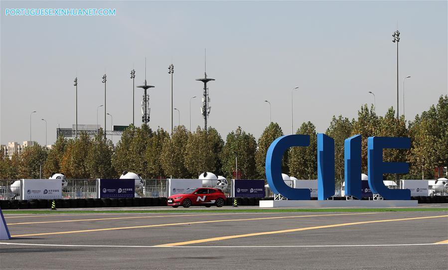 CHINA-SHANGHAI-CIIE-NEW EXHIBITION AREA (CN)