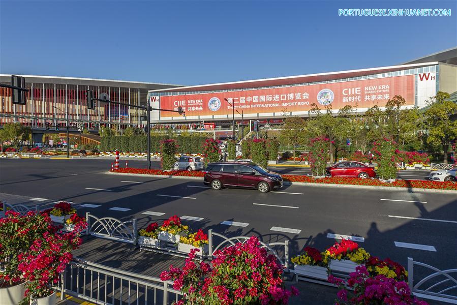 CHINA-SHANGHAI-CIIE-FLOWERS (CN)