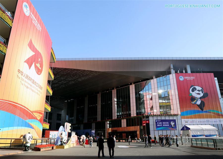 CHINA-SHANGHAI-CIIE-PREPARATION (CN)