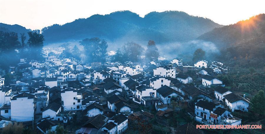 CHINA-JIANGXI-WUYUAN-TOURISM-SCENERY (CN)