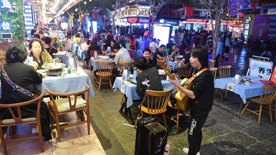 CHINA-GUANGXI-YANGSHUO-NIGHT ECONOMY (CN)