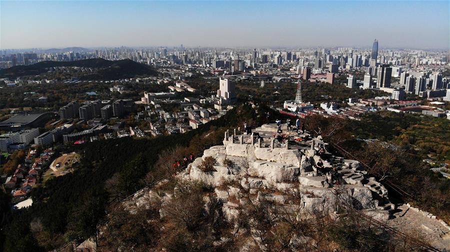 CHINA-SHANDONG-QIANFOSHAN MOUNTAIN-SCENERY (CN)