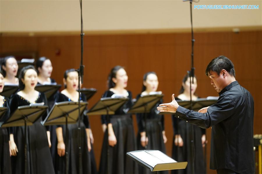 "CHINA-BEIJING-""GOLDEN LIGHT""-CHORAL CONCERT (CN)"