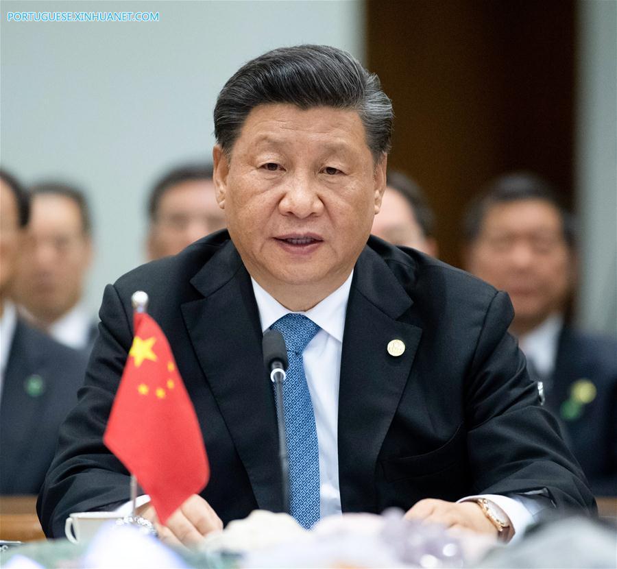 BRAZIL-BRASILIA-CHINA-XI JINPING-BRICS-SUMMIT