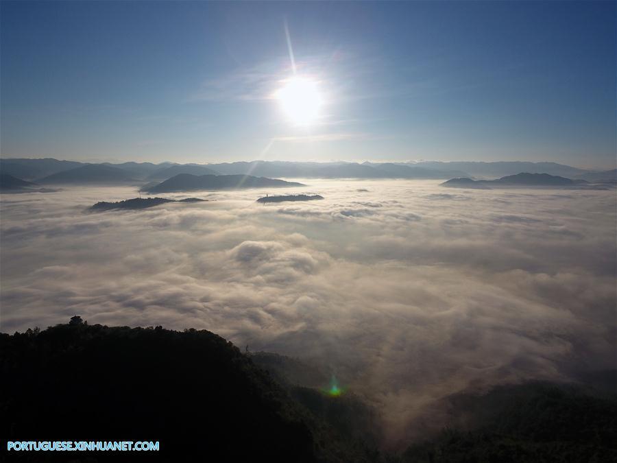 CHINA-YUNNAN-NING'ER COUNTY-CLOUDS (CN)