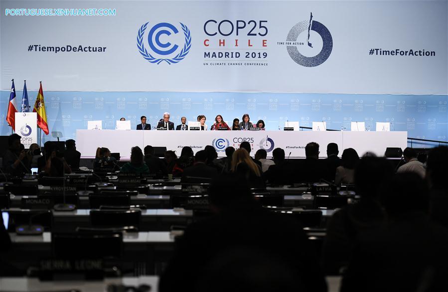 SPAIN-MADRID-COP25-CLOSING PLENARY