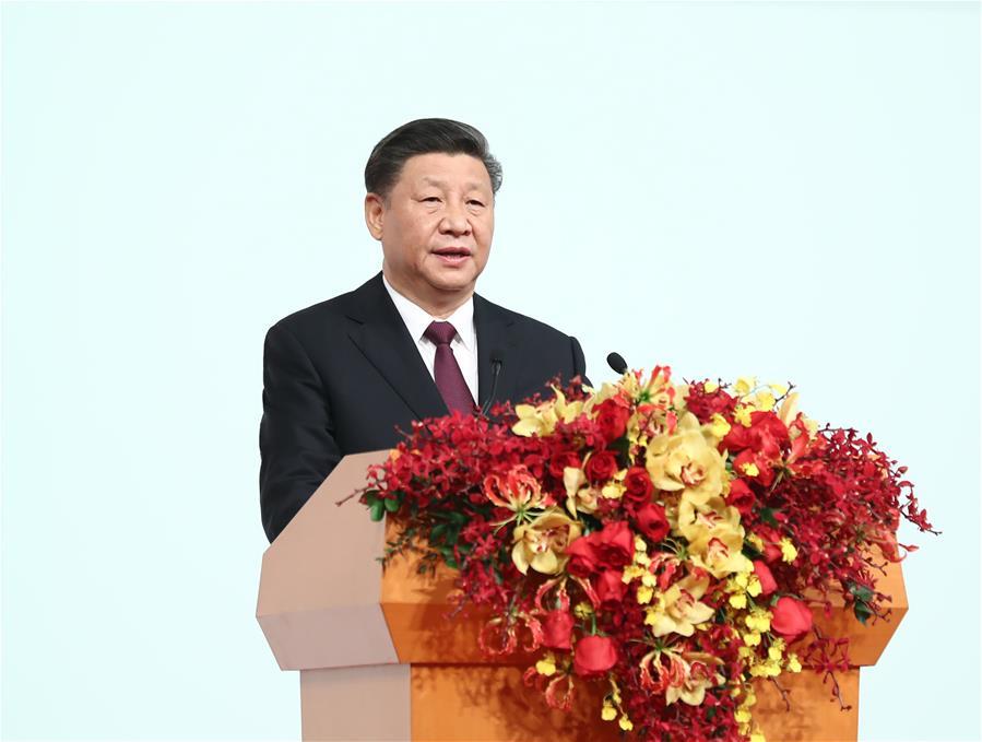 CHINA-MACAO-XI JINPING-ANNIVERSARY GATHERING-INAUGURATION (CN)