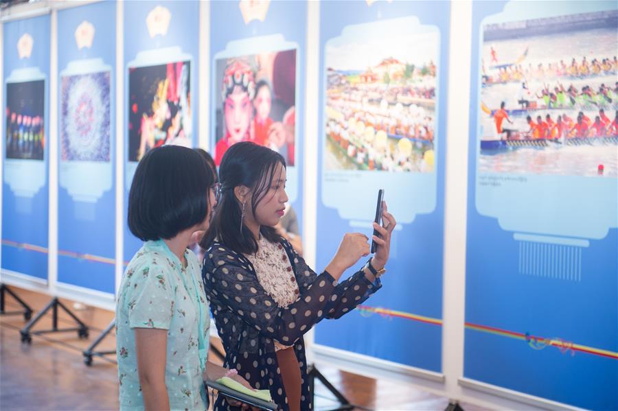 MYANMAR-YANGON-CHINA-PHOTO EXHIBITION
