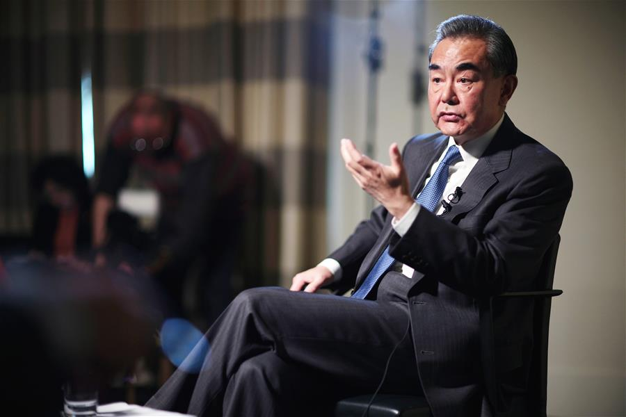 GERMANY-BERLIN-CHINESE FM-REUTERS-INTERVIEW
