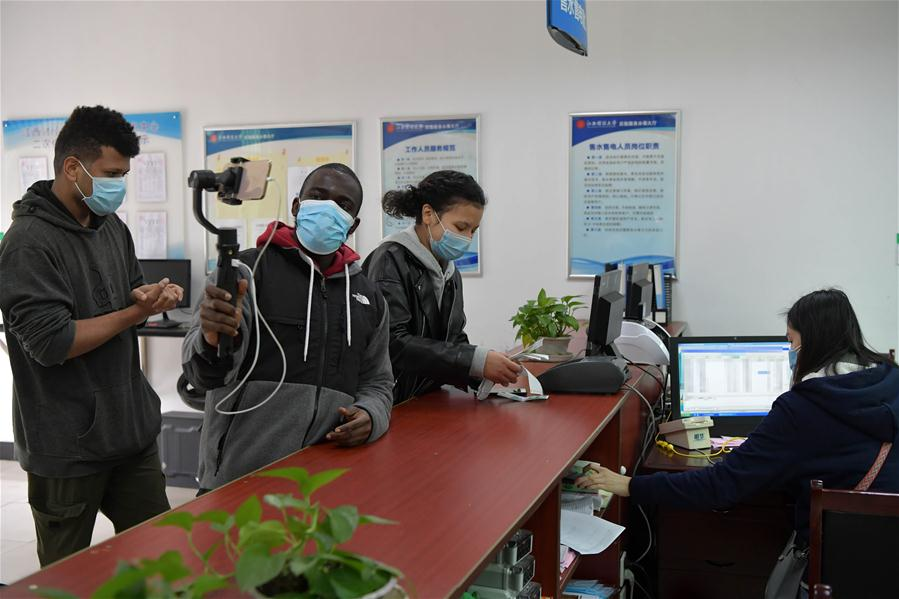 CHINA-JIANGXI-NANCHANG-COVID-19-INTERNATIONAL STUDENT (CN)