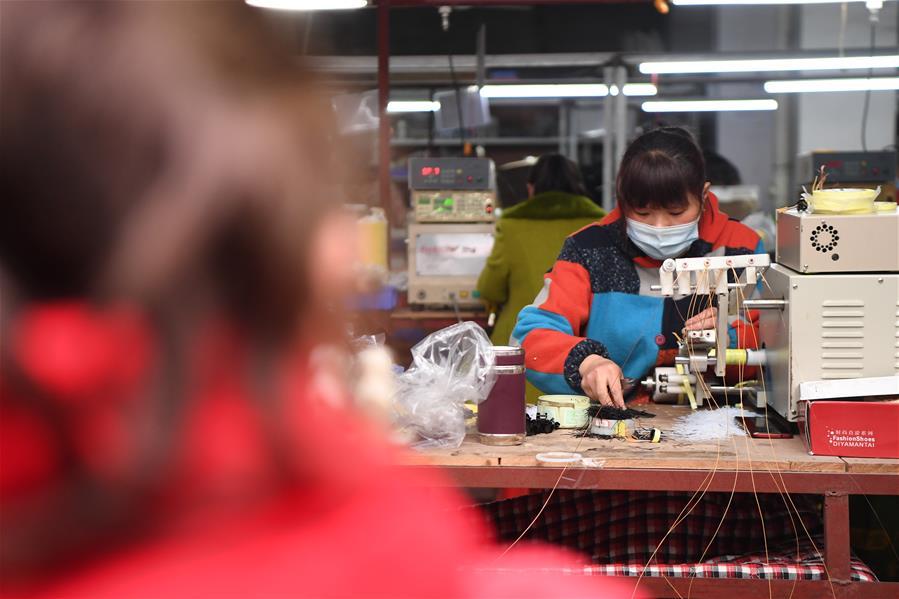 CHINA-YIYANG-COMPANY-POVERTY RELIEF-PRODUCTION RESUMPTION(CN)