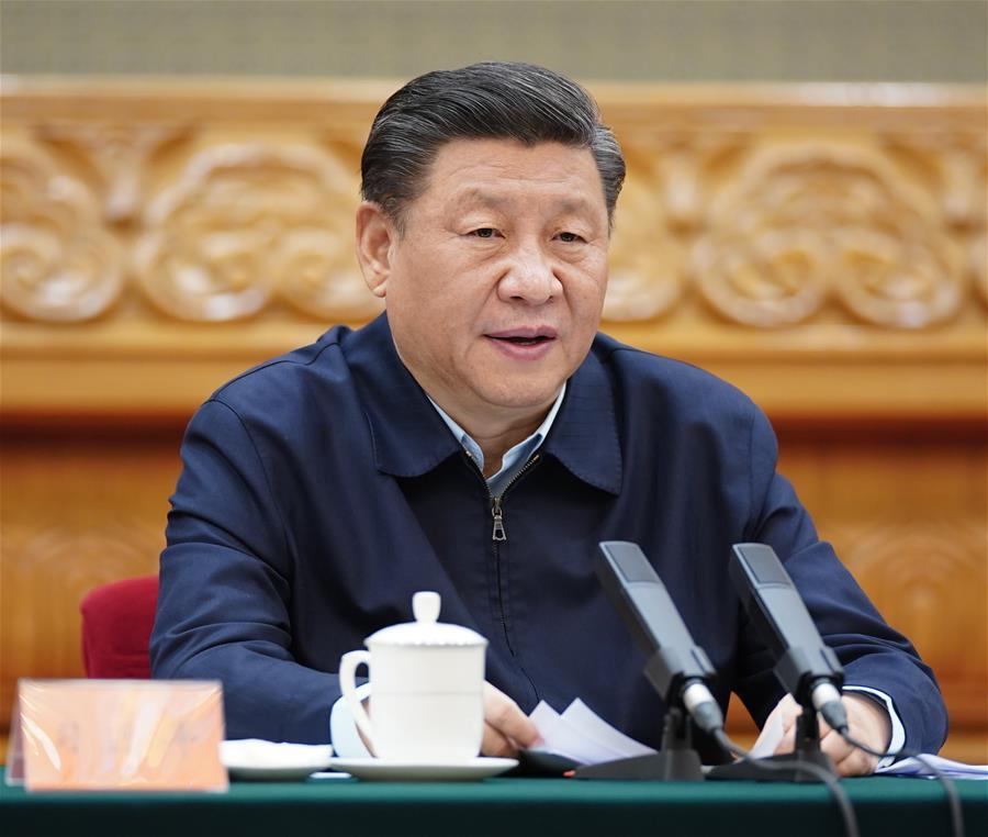 CHINA-BEIJING-XI JINPING-SYMPOSIUM-POVERTY ALLEVIATION (CN)