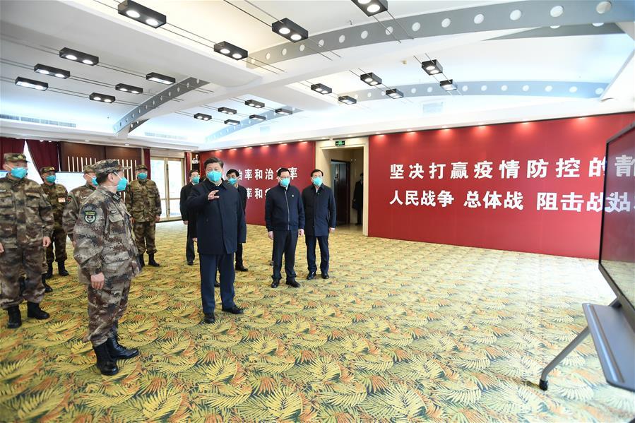 CHINA-WUHAN-XI JINPING-INSPECTION (CN)