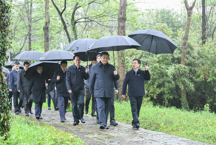 CHINA-ZHEJIANG-HANGZHOU-XI JINPING-INSPECTION (CN)