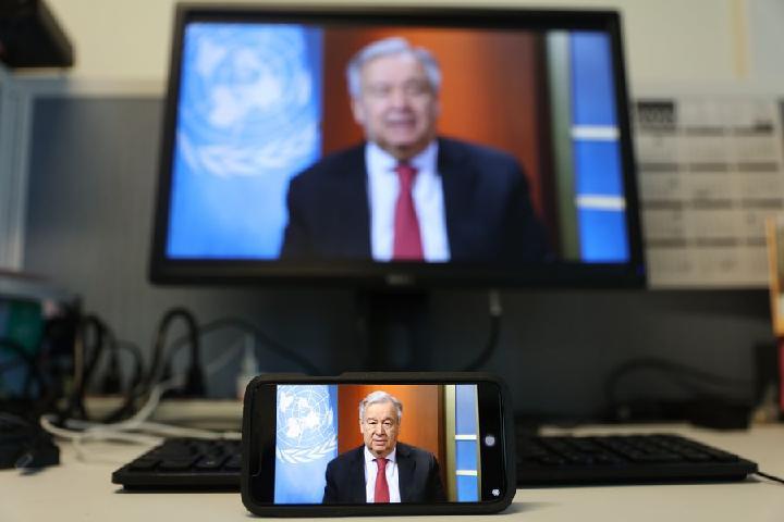 Secretário-geral da ONU reitera apelo por cessar-fogo global durante luta contra a COVID-19