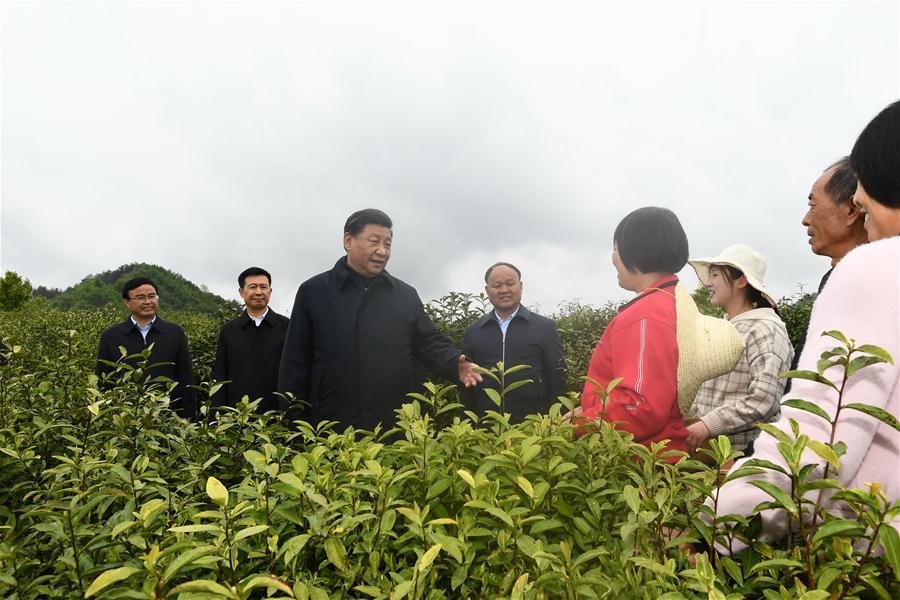 CHINA-SHAANXI-XI JINPING-INSPECTION (CN)