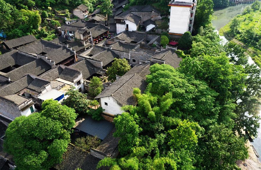 CHINA-CHONGQING-HONG'AN ANCIENT TOWN-SCENERY (CN)