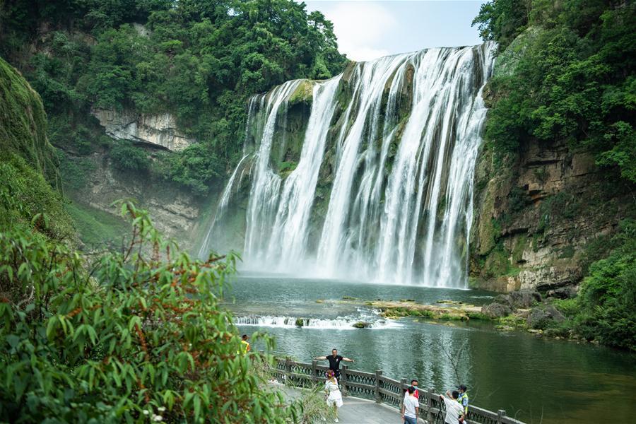 CHINA-GUIZHOU-HUANGGUOSHU WATERFALL (CN)