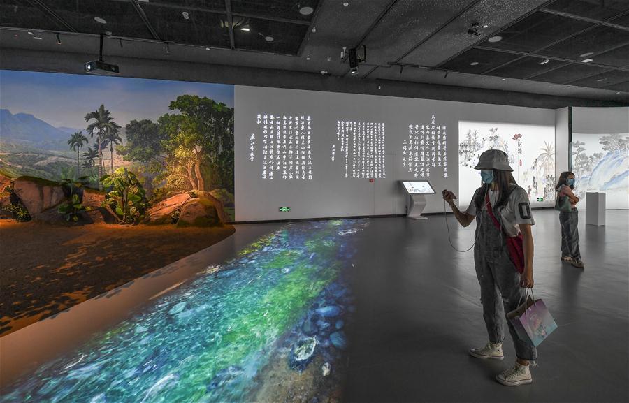 CHINA-HAINAN-HAIKOU-PROVINCIAL MUSEUM-DIGITAL EXHIBITION HALL-OPEN (CN)