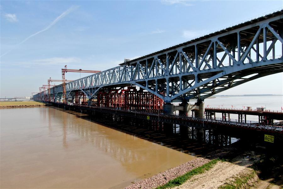 CHINA-ZHENGZHOU-JINAN-RAILWAY-BRIDGE-CONSTRUCTION (CN)