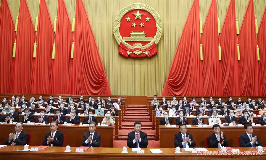 (TWO SESSIONS)CHINA-BEIJING-NPC-ANNUAL SESSION-CLOSING MEETING (CN)