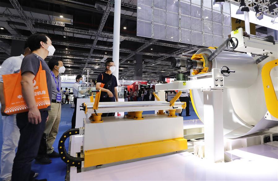 CHINA-SHANGHAI-MACHINE TOOL-EXHIBITION (CN)