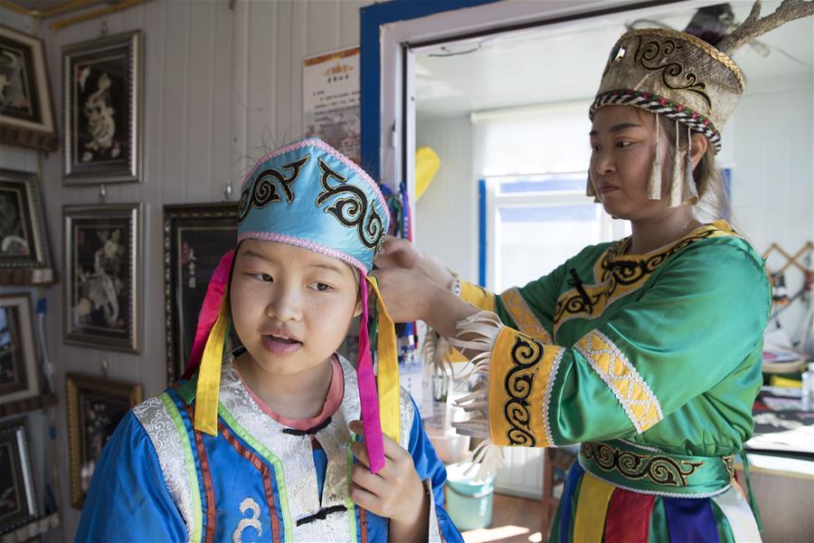 CHINA-HEILONGJIANG-HEZHE ETHNIC GROUP (CN)
