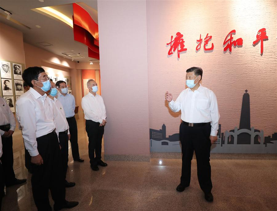 CHINA-JILIN-XI JINPING-INSPECTION (CN)