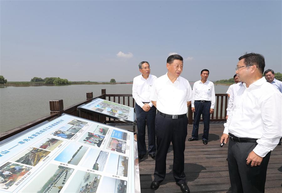 CHINA-ANHUI-MA'ANSHAN-XI JINPING-INSPECTION (CN)