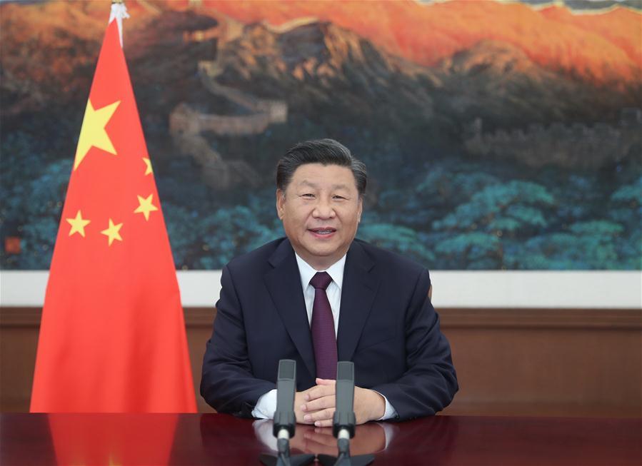 CHINA-XI JINPING-CIFTIS-SUMMIT-SPEECH (CN)