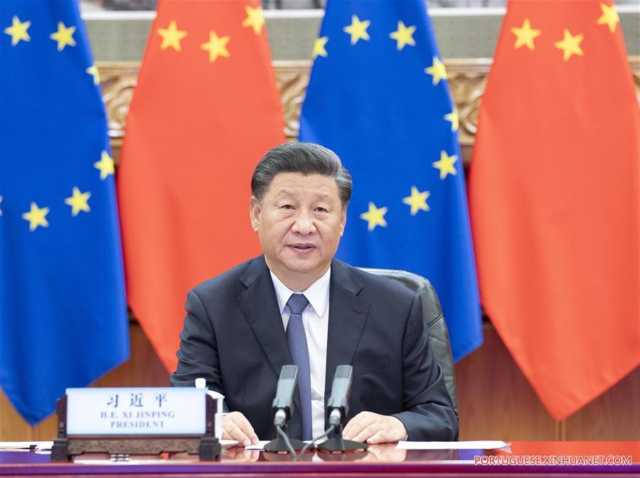 CHINA-BEIJING-XI JINPING-GERMANY-EU-MEETING (CN)