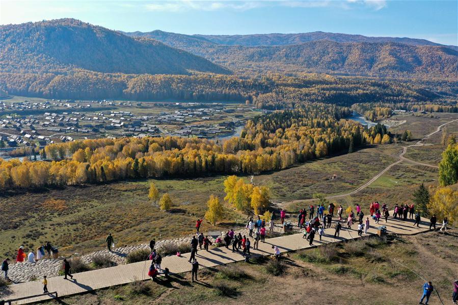 CHINA-XINJIANG-ALTAY-TOURISM-RECOVERY (CN)