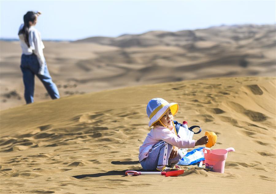 CHINA-XINJIANG-SHANSHAN-DESERT-TOURISM (CN)