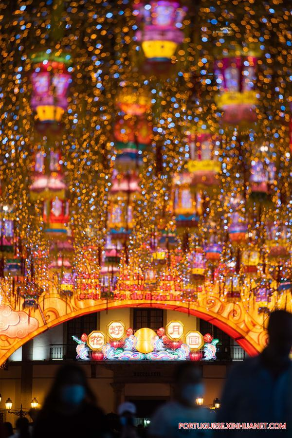 CHINA-MACAO-MID-AUTUMN FESTIVAL-NATIONAL DAY HOLIDAY-CELEBRATION (CN)