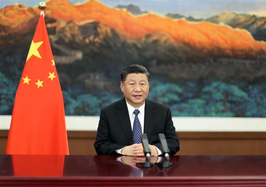 CHINA-XI JINPING-WORLD LAUREATES FORUM (CN)