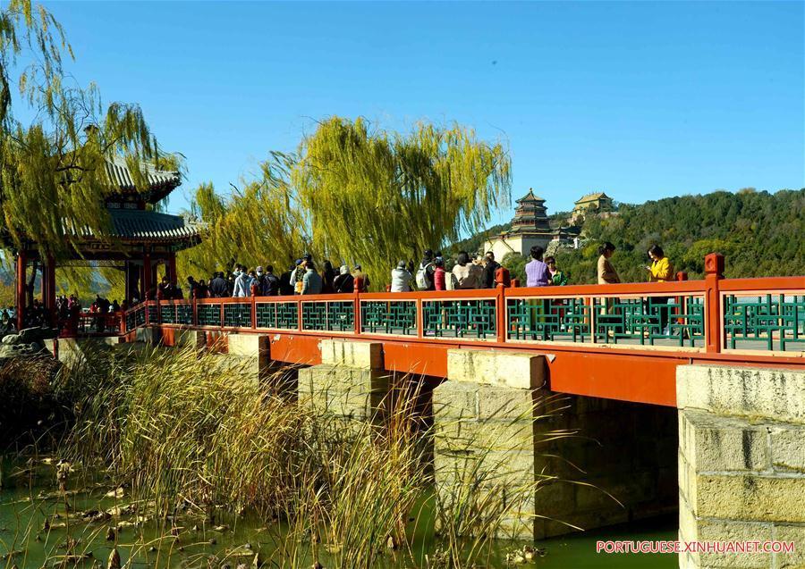 CHINA-BEIJING-SUMMER PALACE-EARLY WINTER SCENERY (CN)