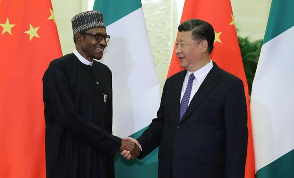 Xi reúne-se com presidente nigeriano