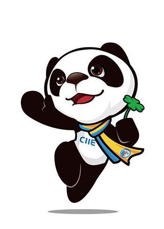 Revelada mascote da primeira Expo de Importação da China