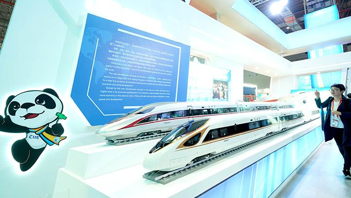 Galeria: Pavilhão da China na Exposição Internacional de Importação da China