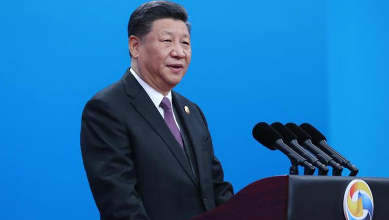 (Cinturão e Rota) Xi participa da cerimônia de abertura do Fórum do Cinturão e Rota