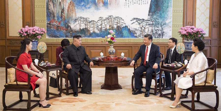 Xi Jinping se reúne com Kim Jong Un em Beijing