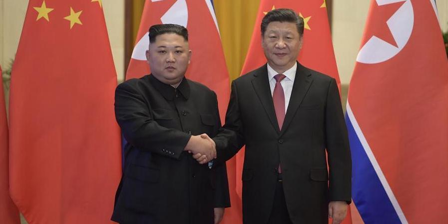 Xi Jinping e Kim Jong Un realizam conversações e atingem importantes consensos