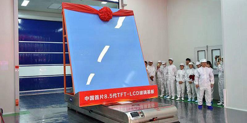 (Multimídia) China pronta para produção em massa de telas LCD auto-desenvolvidas