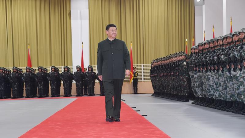 (RAEM 20) Presidente Xi pede que a guarnição do ELP em Macau cumpra melhor seus deveres